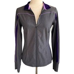 XERSION Zip Up Workout Jacket Small